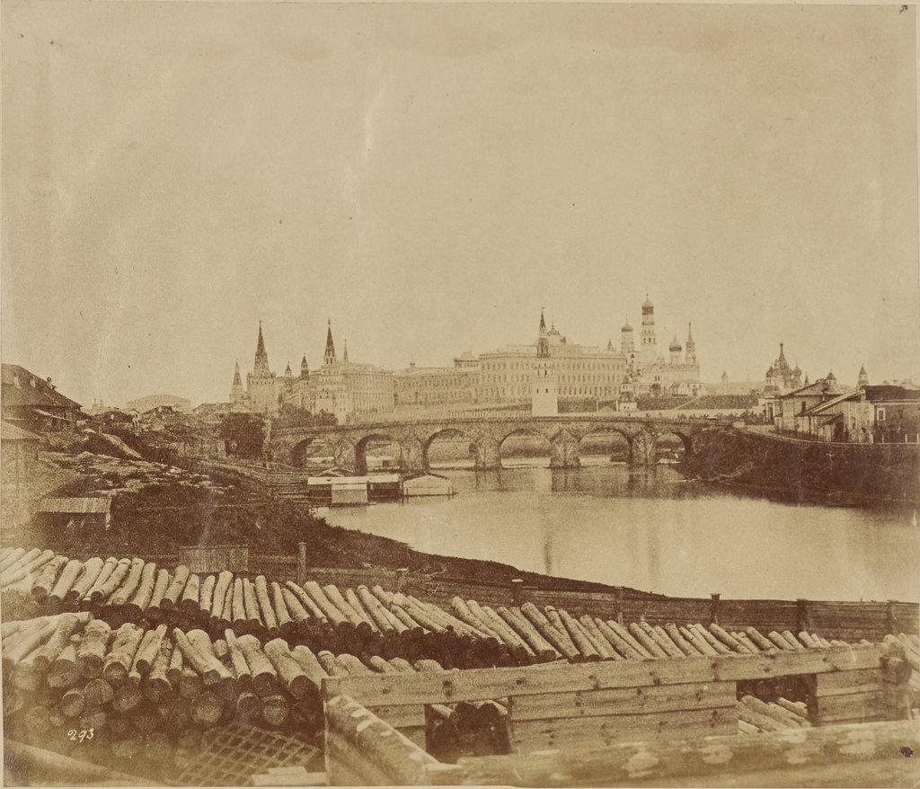 Москва. Кремль и Старый мост с запада
