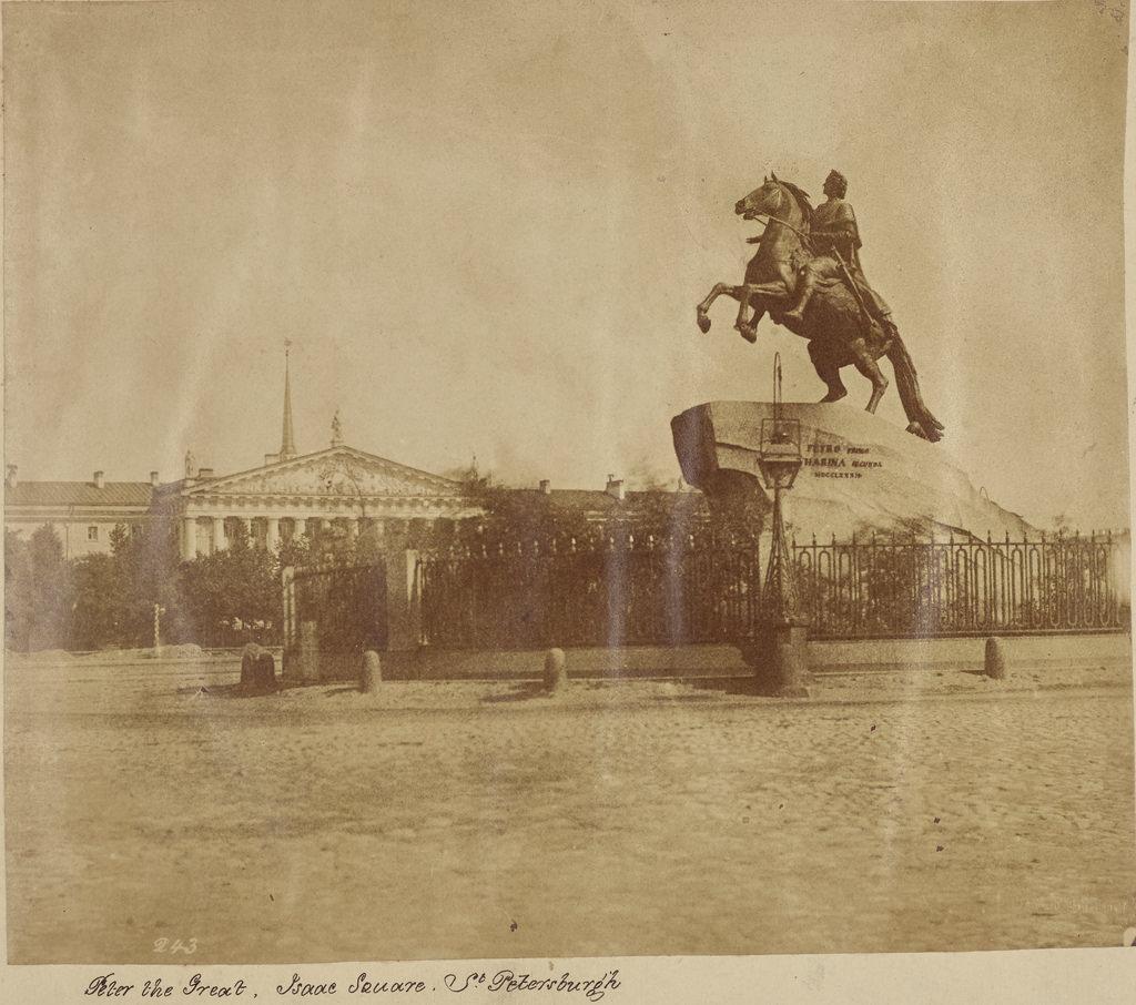 Санкт-Петербург. Сенатская площадь. Памятник Петру Великому
