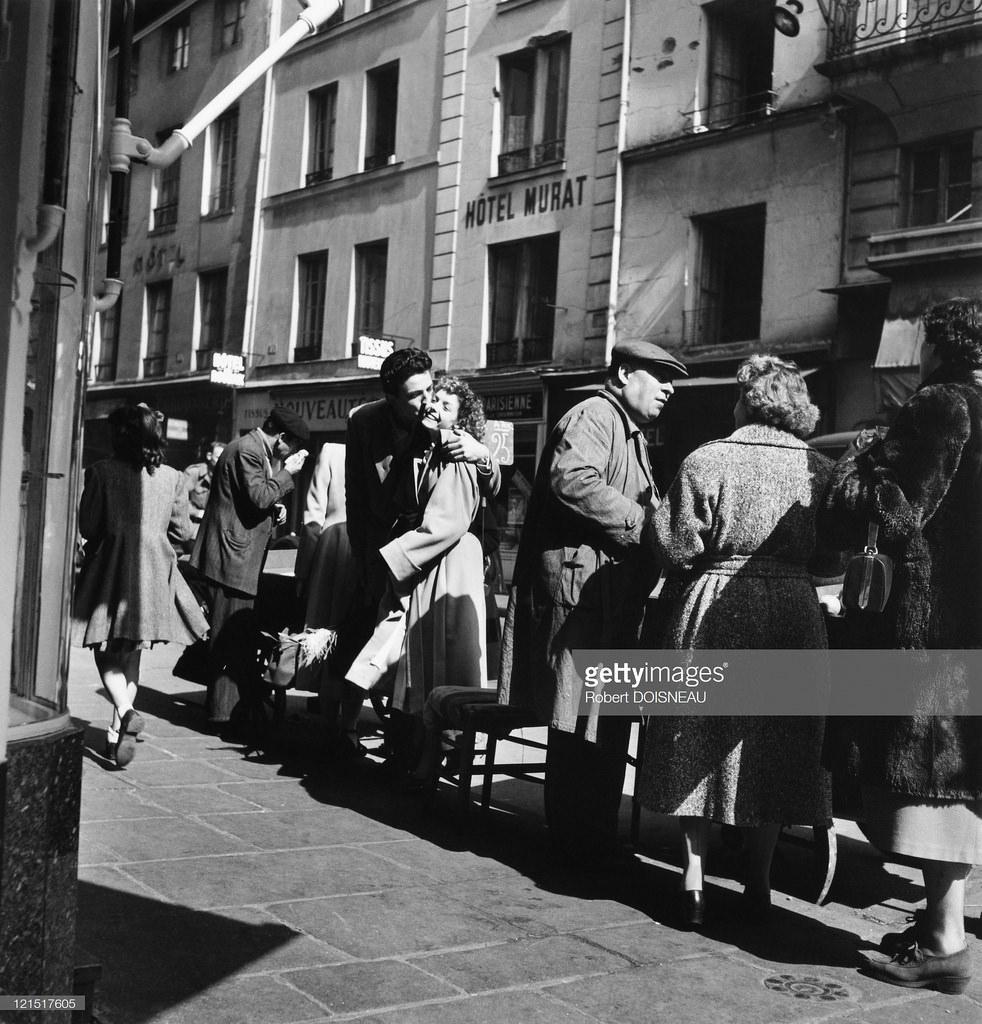 1950. Влюбленные. Париж