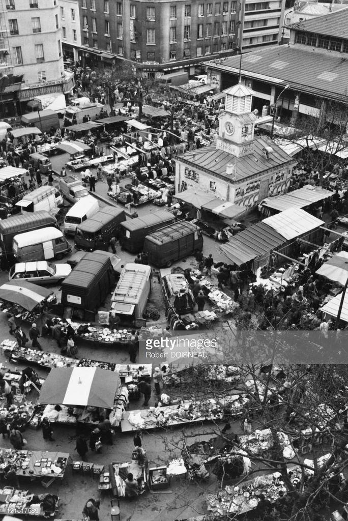1983. Рынок Алигр, Париж