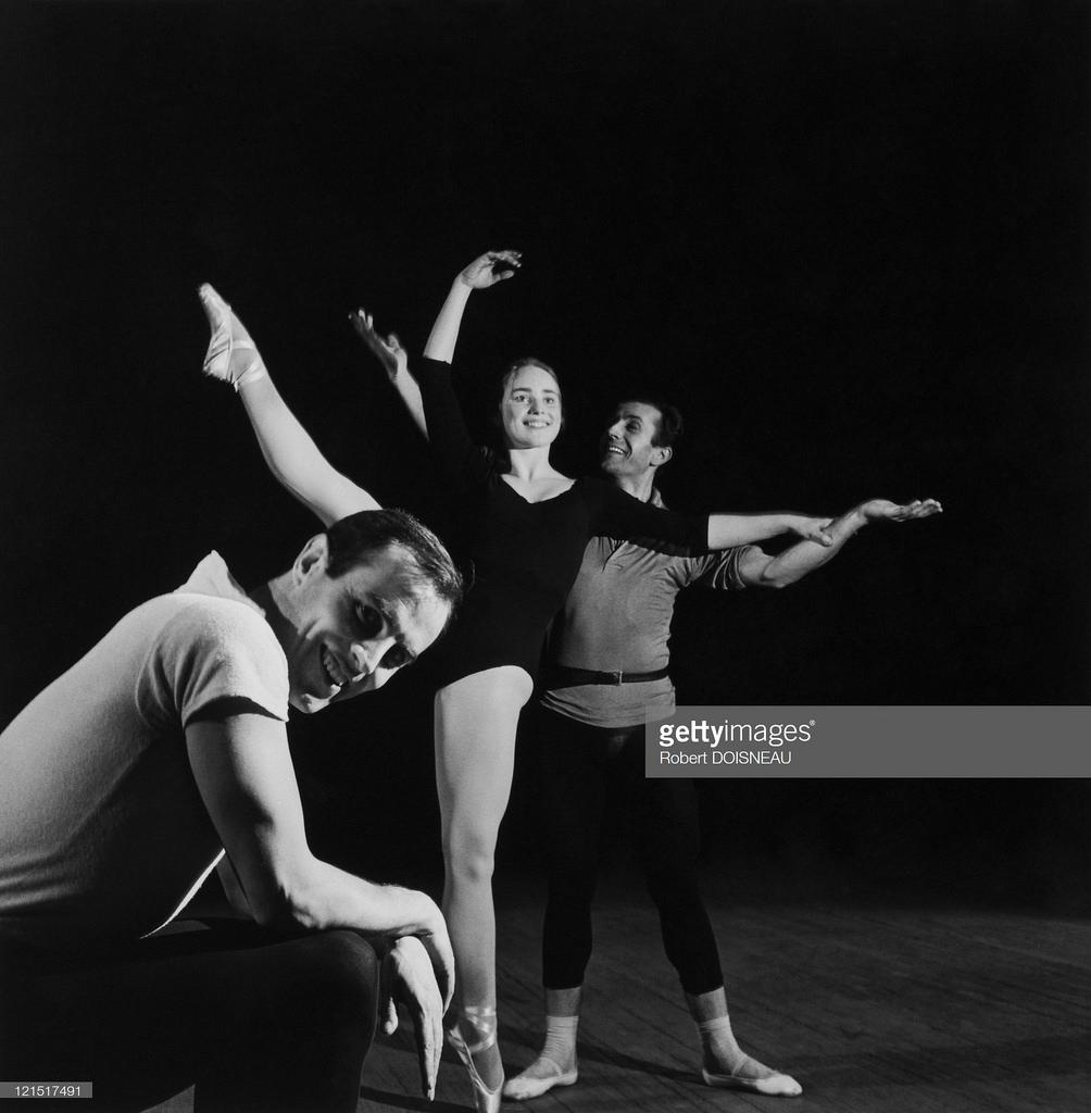 Репетиция классического балета