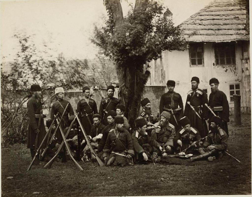 Кубанские казаки (пластуны)
