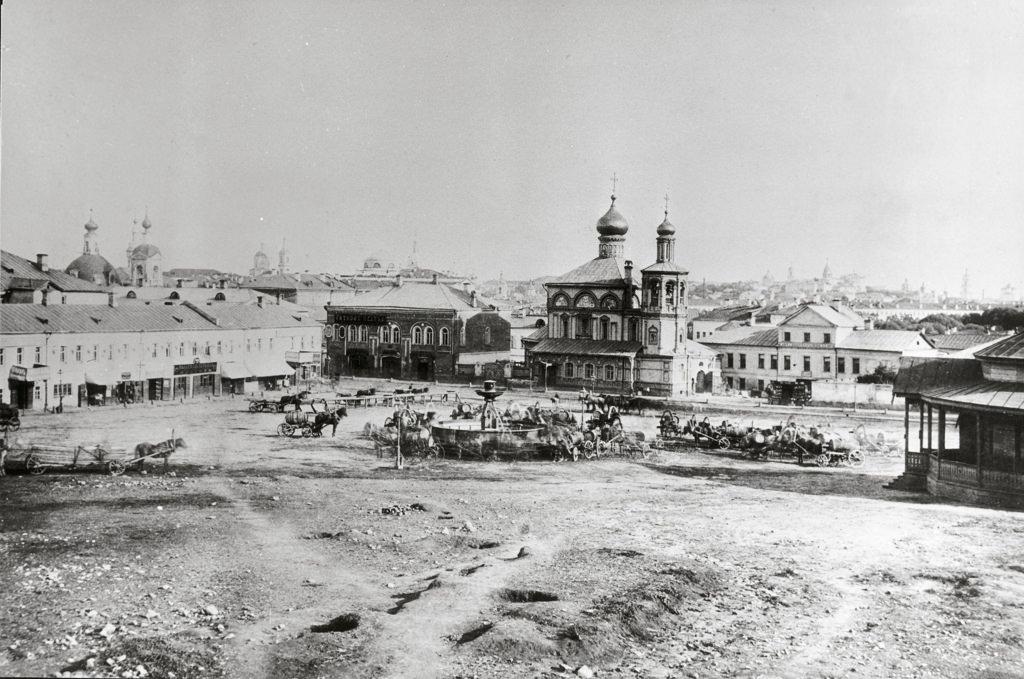 Варварская площадь, 1860-е
