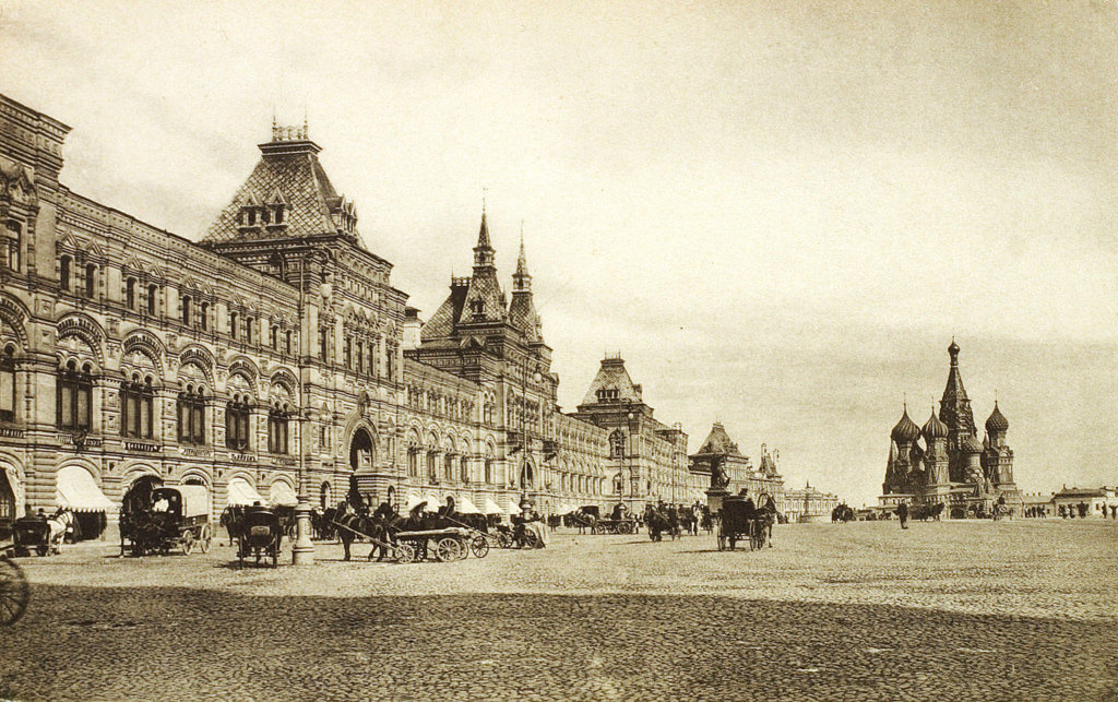 Верхние торговые ряды на Красной площади, 1910