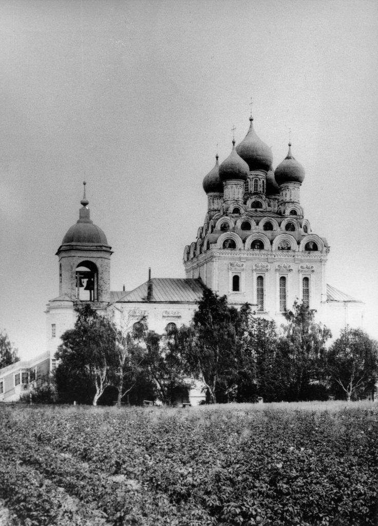 Церковь Тихвинской иконы Божией Матери в Алексеевской. 1891