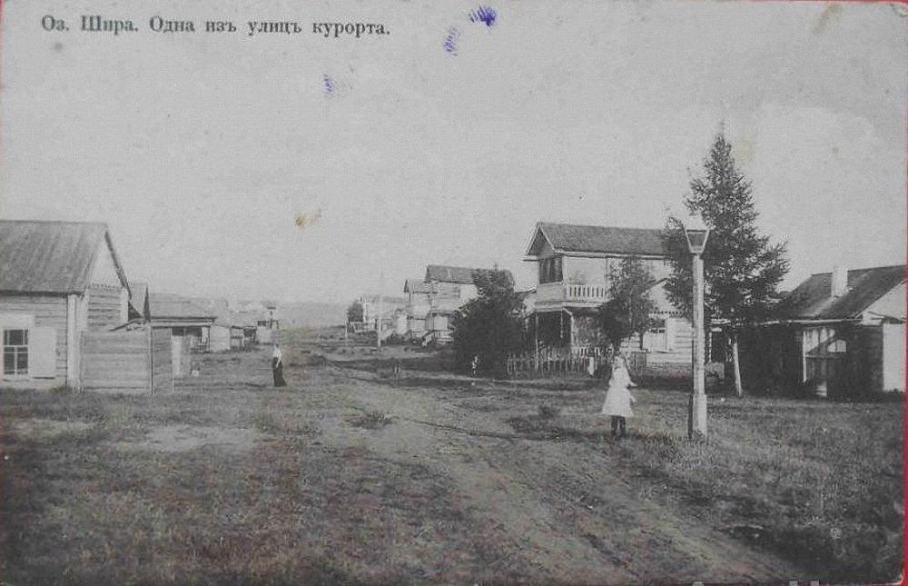 Одна из улиц курорта