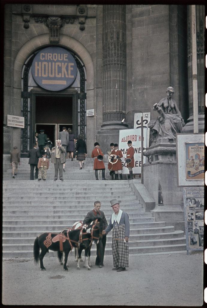 Цирк Жана Хоке в Гран Пале. Июнь