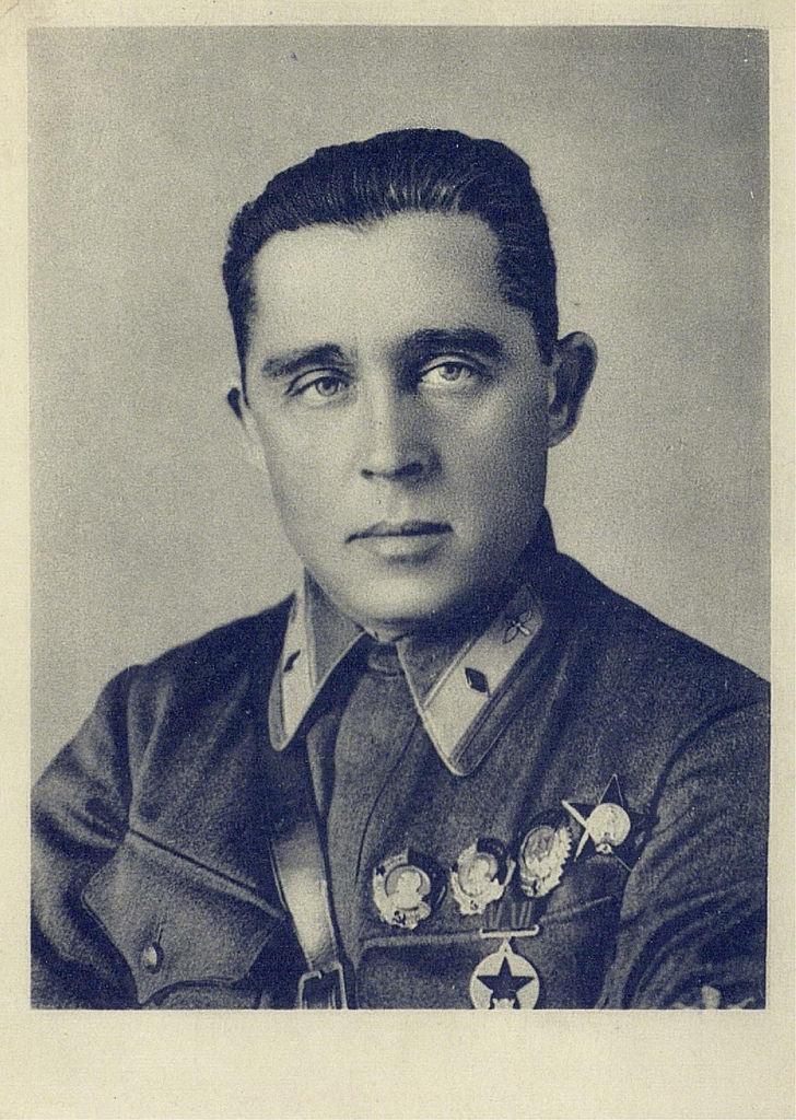 Герой Советского Союза Иван Тимофеевич Спирин