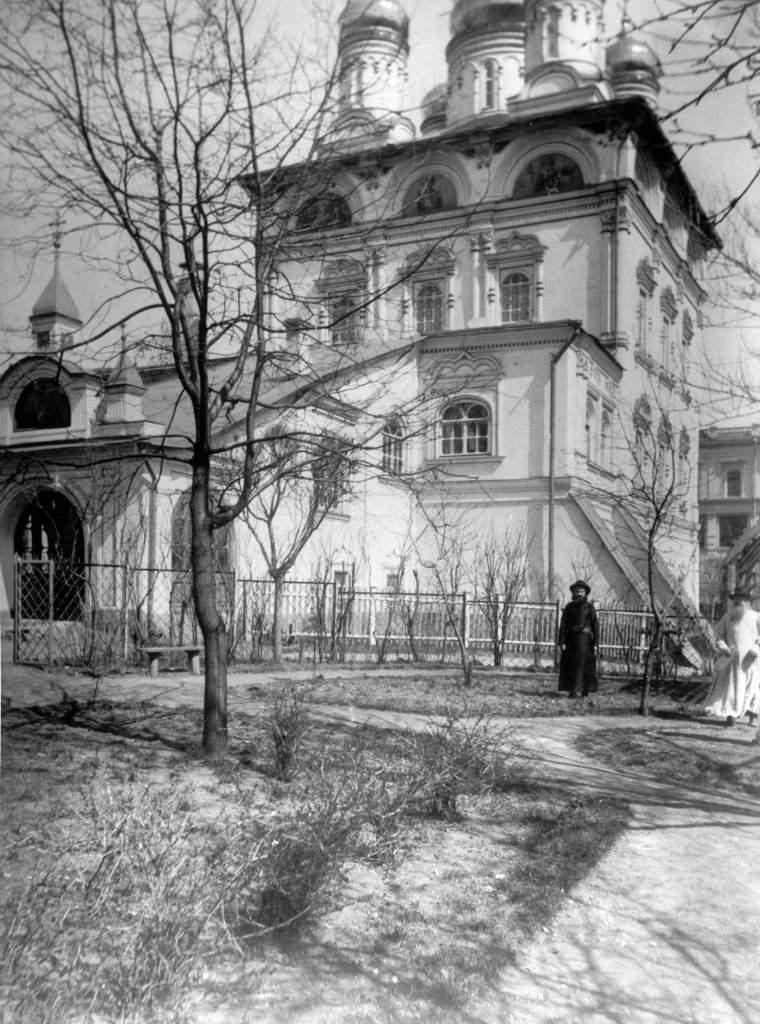Собор Знаменского монастыря, 1900
