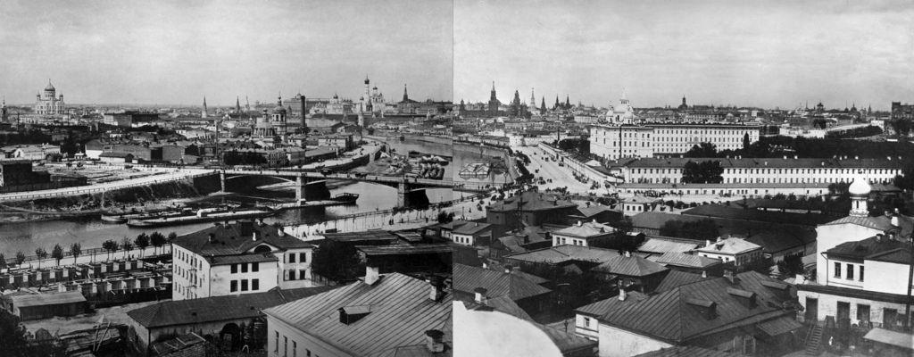 Панорама города, около 1897