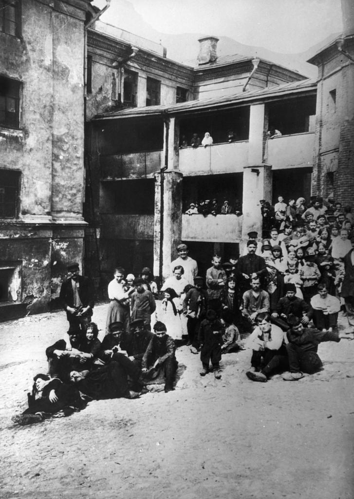 Хитров рынок. 1895