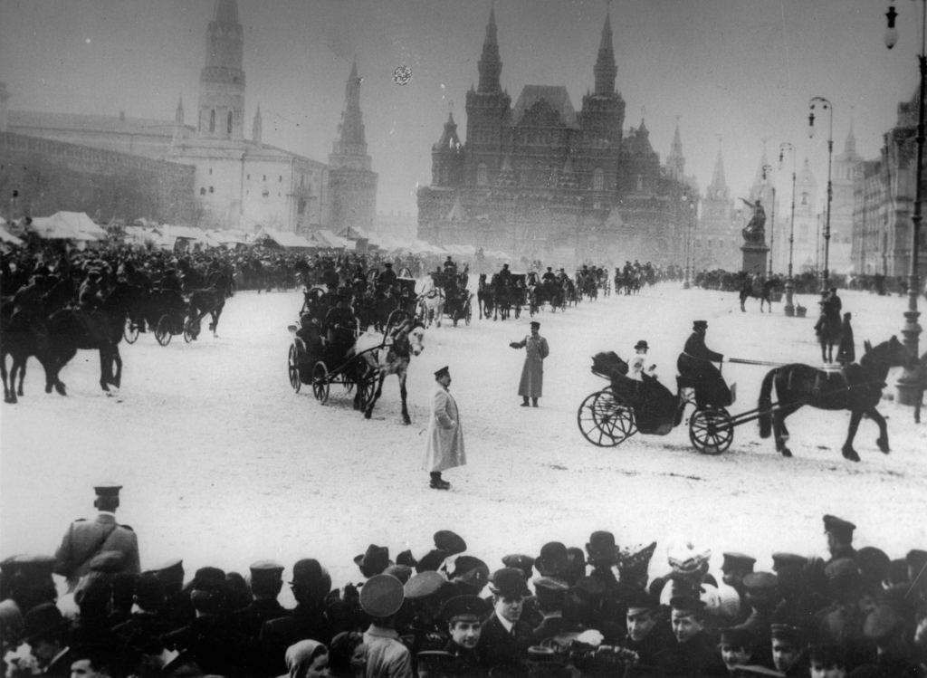 Вид на Красную Площадь, 1910