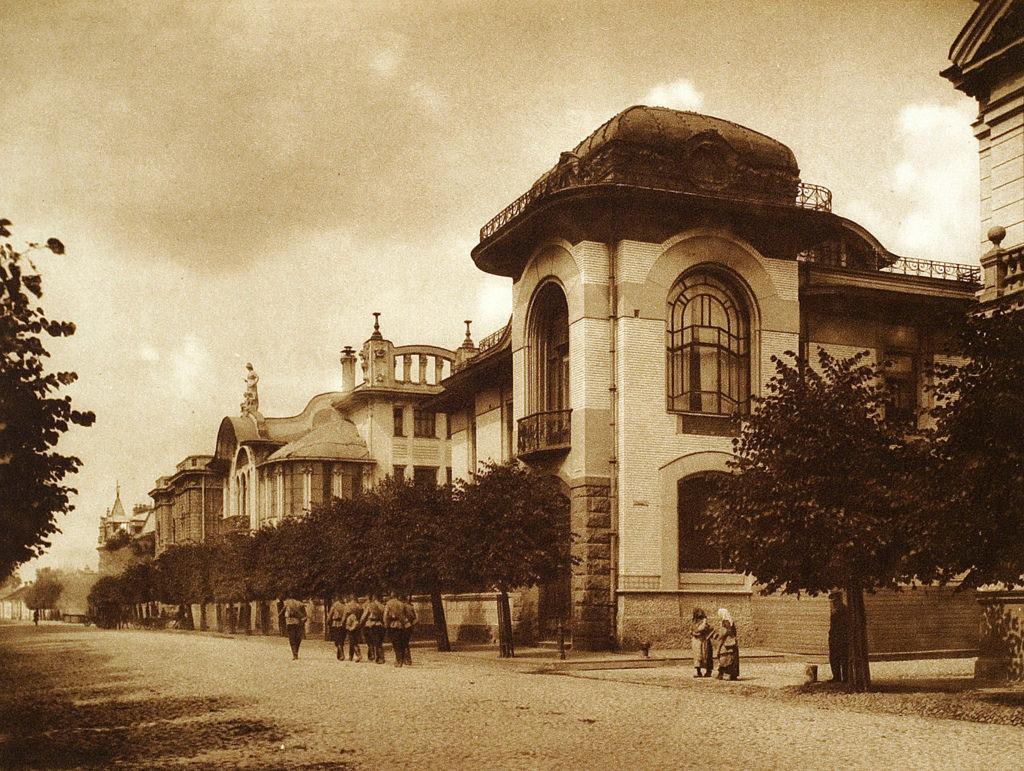 Дом Понизовского на Поварской улице, 1900-е годы.