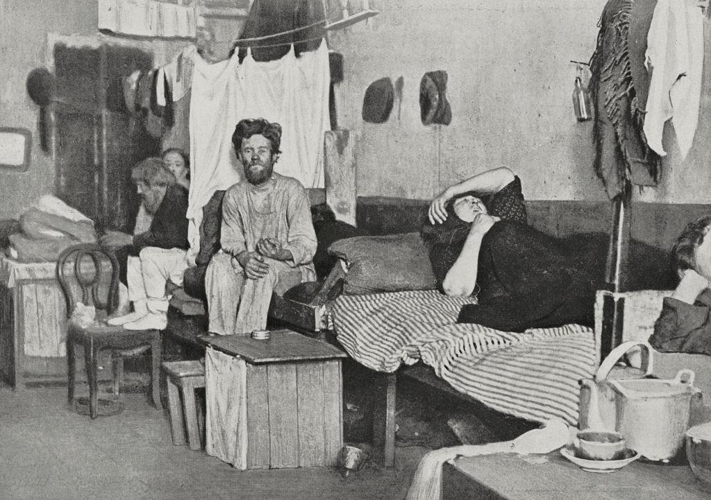 Квартира, принадлежащая нескольким семьям. 29 июля 1911