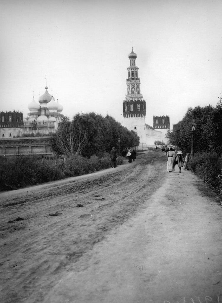 Новодевичий монастырь, вид с южной стороны