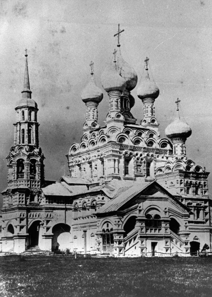 Храм Св.Троицы в Останкино