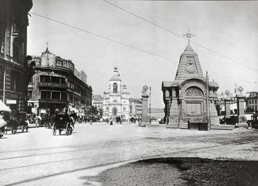 Часовня-памятник Святого Благоверного Князя Александра Невского.