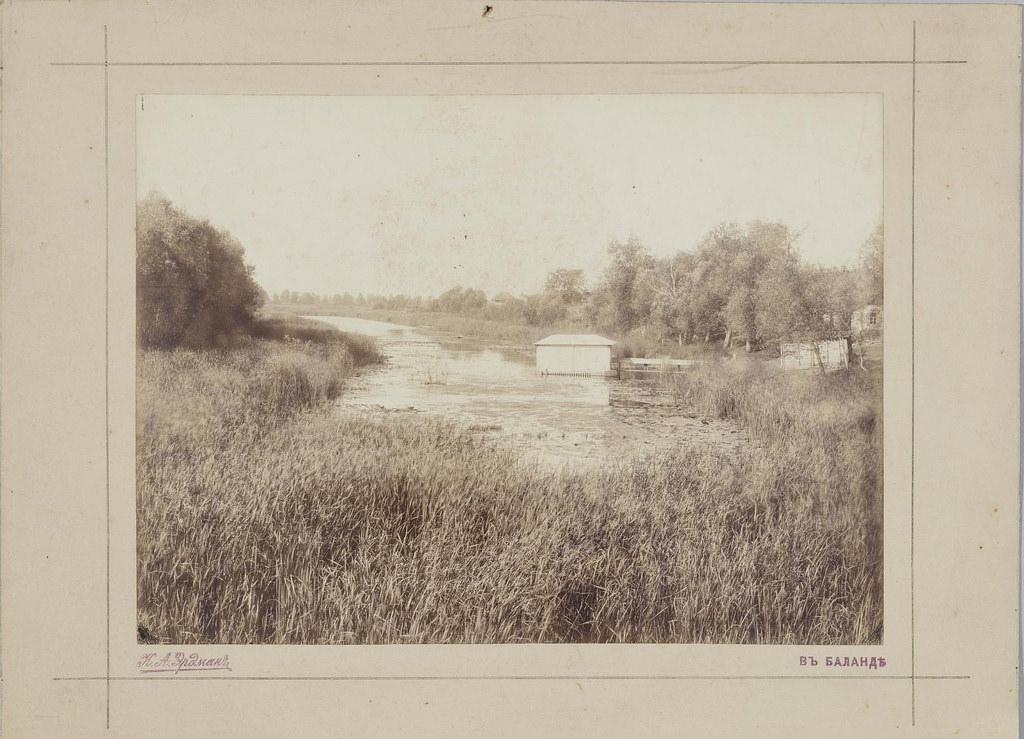 1906. Баланда. Вид на заболоченный водоем