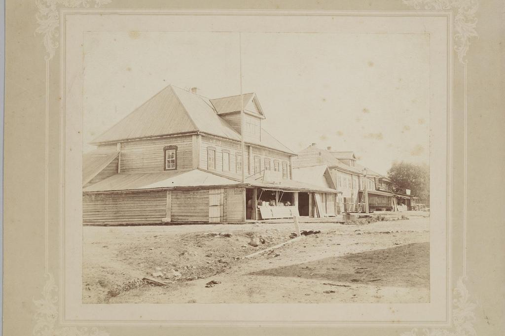 1898. Молодой Туд. Лавка на главной улице
