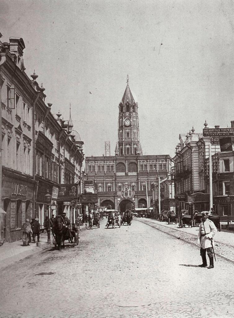 Сухаревская башня, 1902