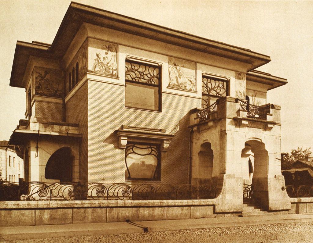 Особняк Степана Павловича Рябушинского. Малая Никитская, 1902