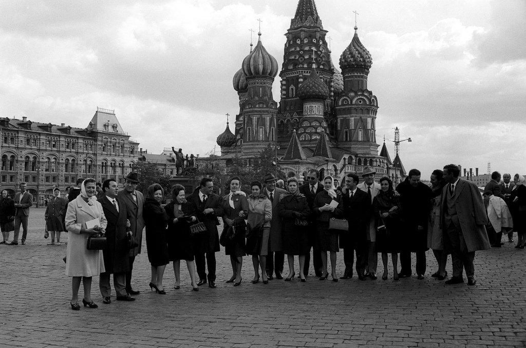 Артисты театра Ла-Скала на Красной площади