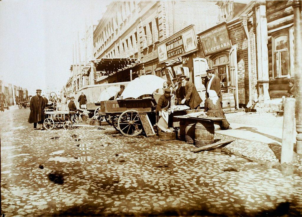 Торговля на 2-й Тверской-Ямской 1911, 1911.