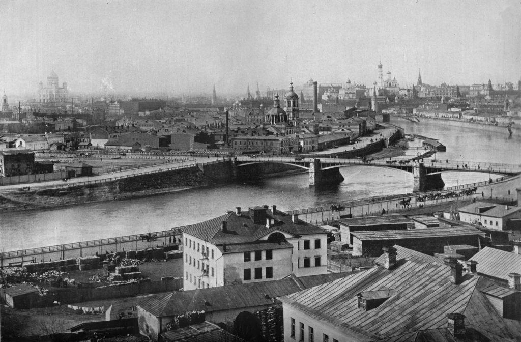 Общий вид Москвы. 1915