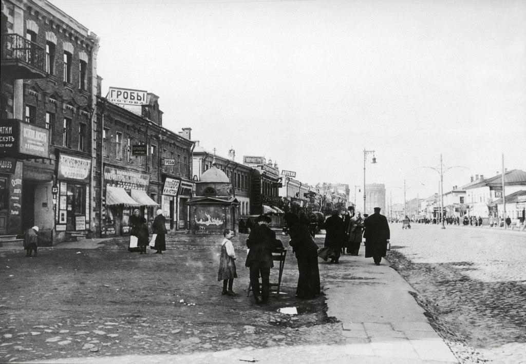 Первая Мещанская, апрель 1914