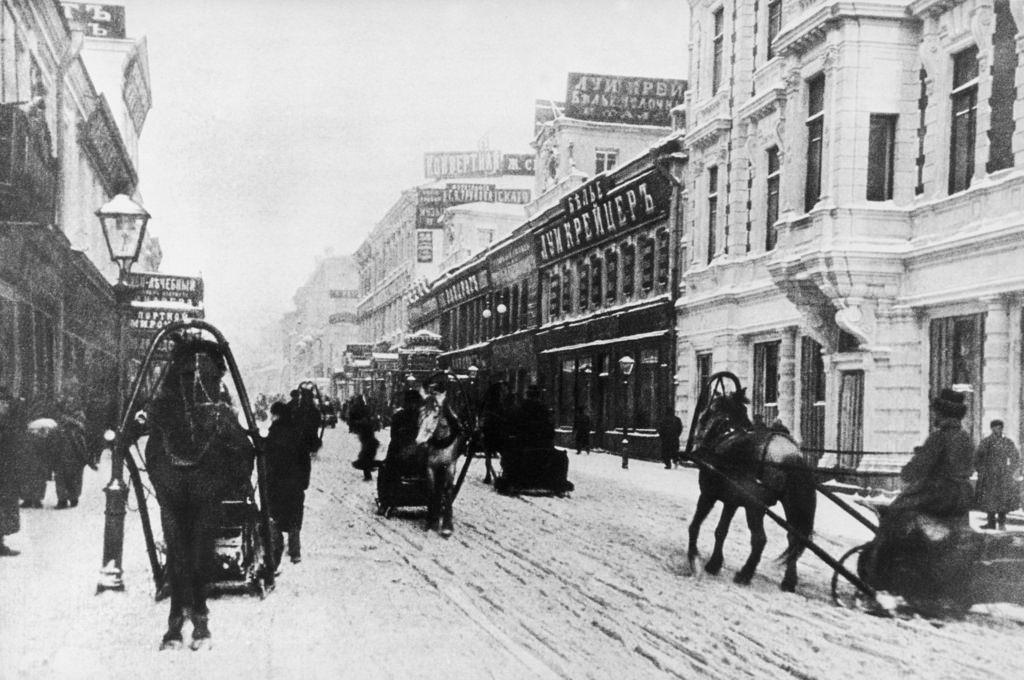 Петровка зимой. 1910