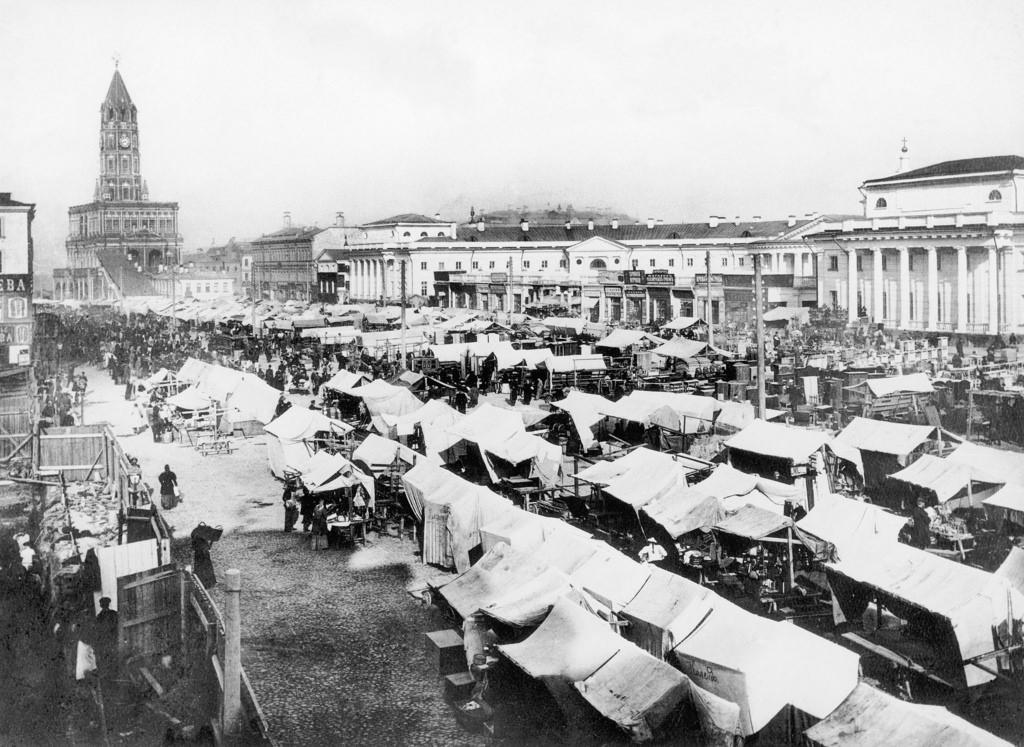 Сухаревский рынок. 1910
