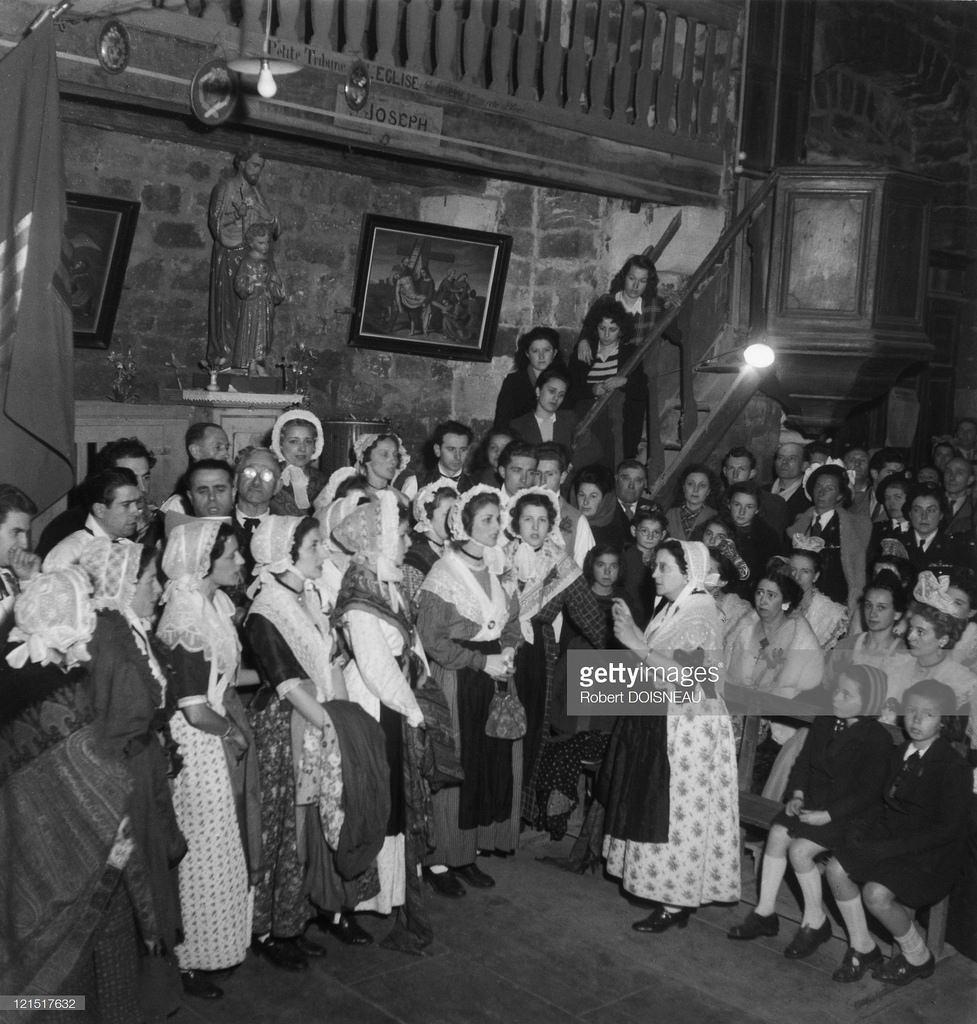 1945. Свадьба в провинции. Провинциальная церковь
