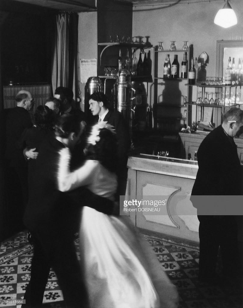 1947. Монруж, свадьба, танцпол