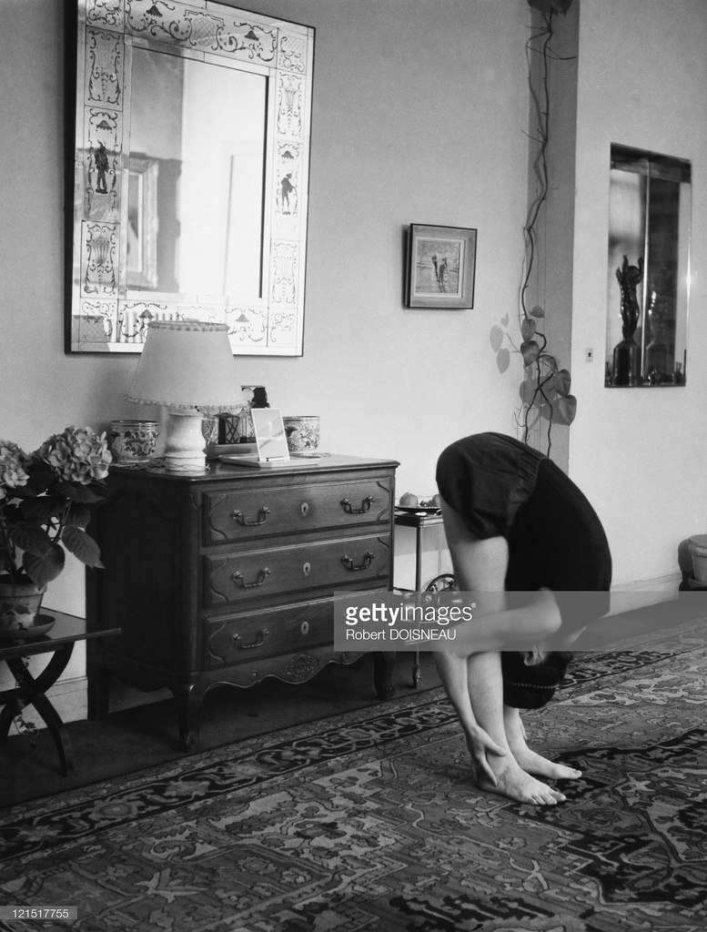 1950-е. Гимнастка. Париж