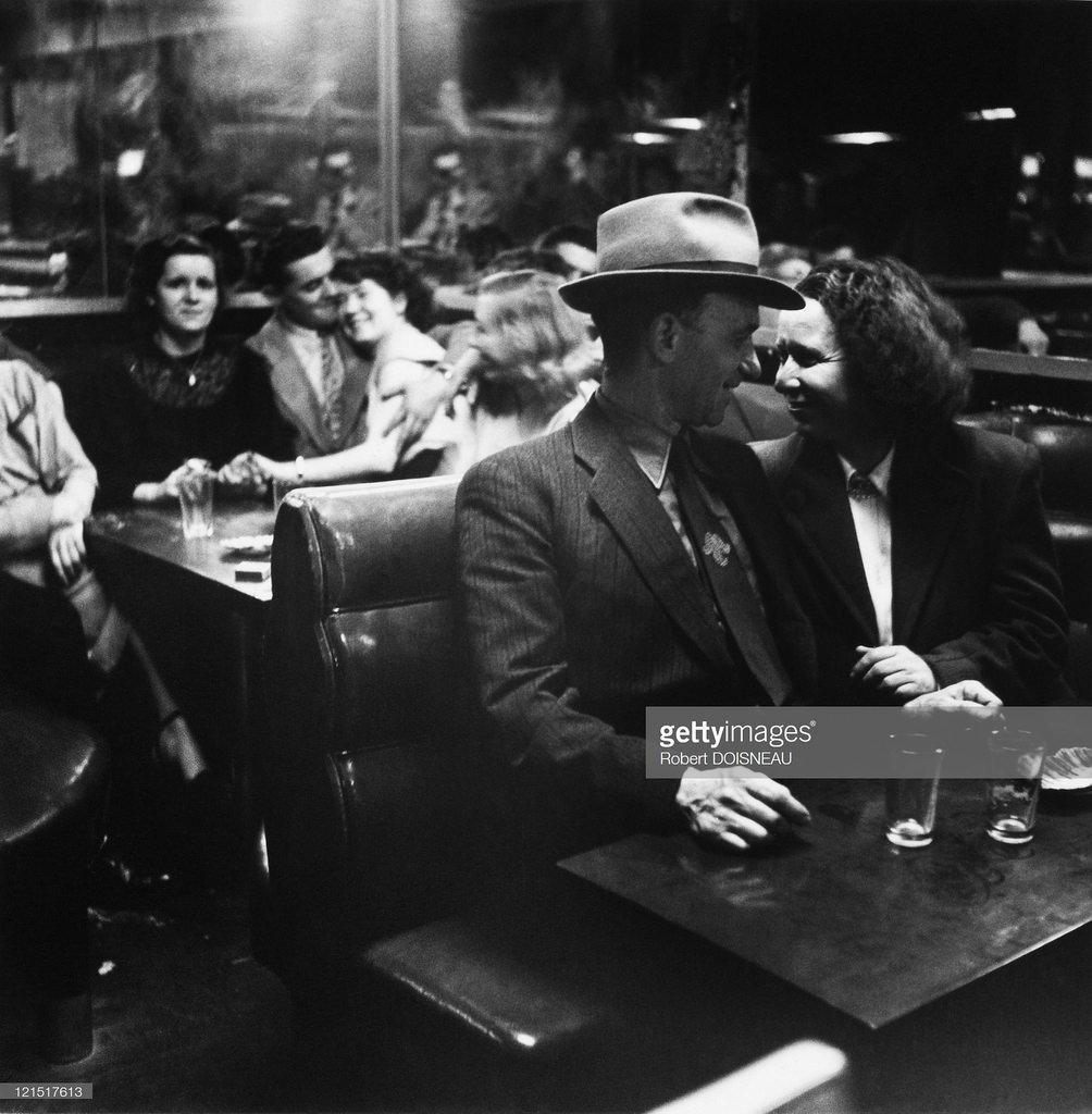 1950. Влюбленные в популярном дансинге на улице Патриарш