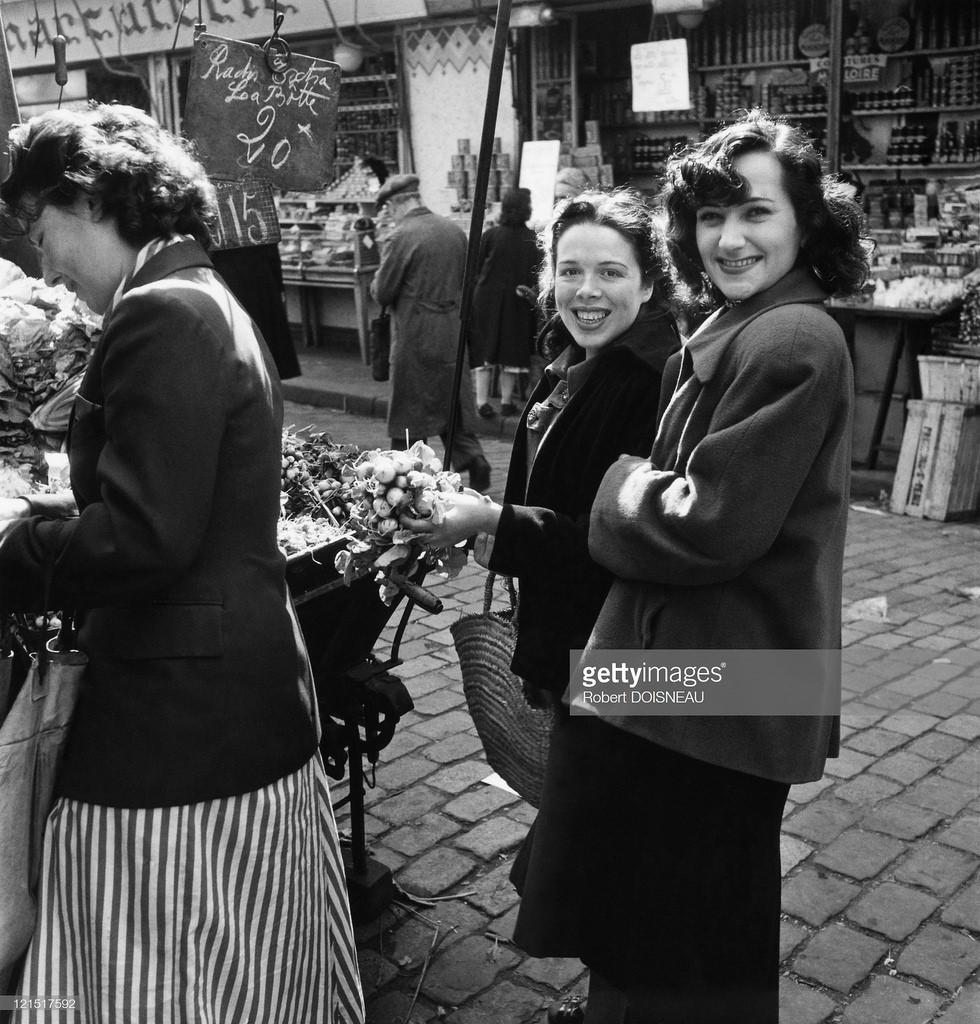 1951. Рынок на улице Муфтар