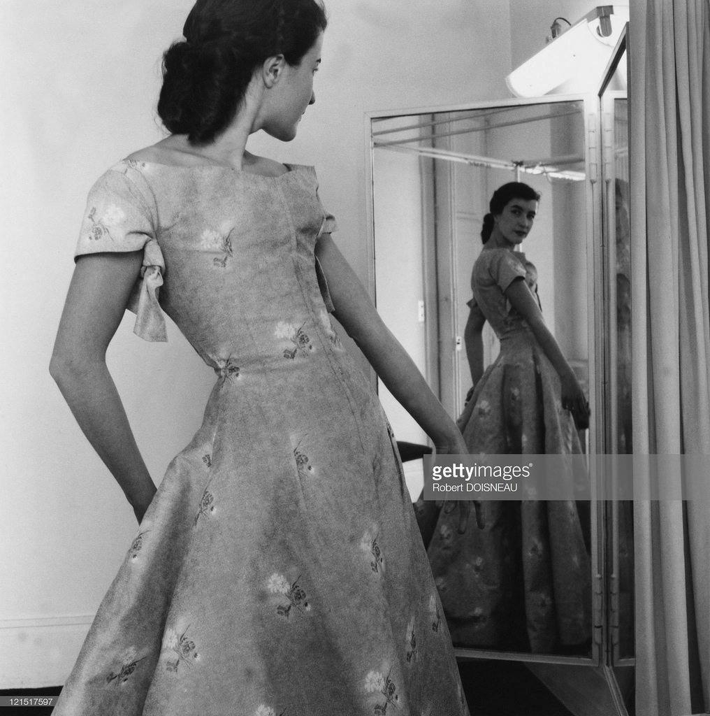 1955. Мода и манекенщицы. 14 июня