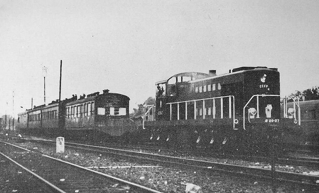 Локомотив Alco diesel Da20-27, который привез Иосифа Сталина и его команду на Потсдамскую конференцию