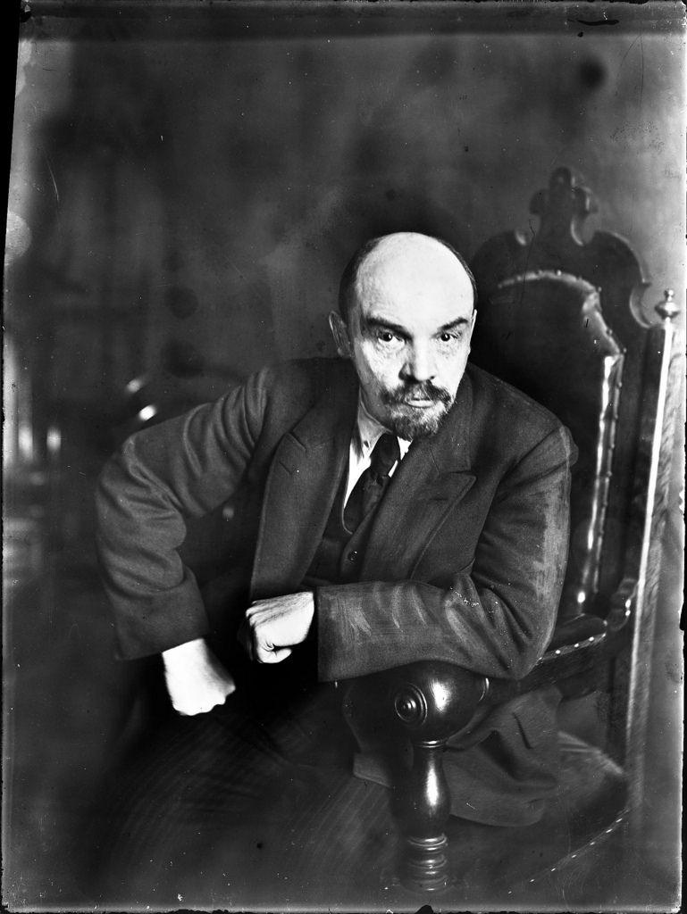 1919. Март. В. И. Ленин, глава правительства большевиков.  Москва
