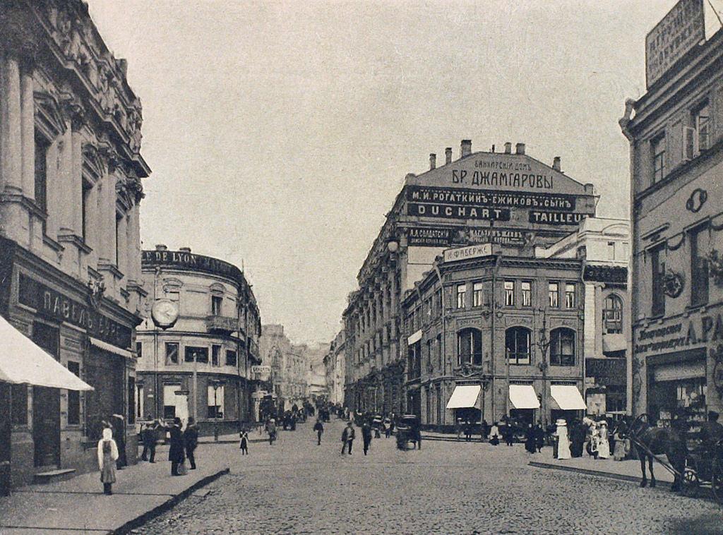 Кузнецкий мост. 1912