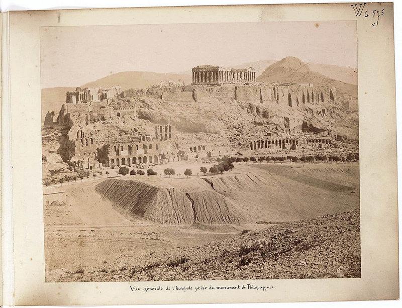 Альбом из 21 фото. из Афин и Пирея в 1880 году, подарок доктора Фювьера-08