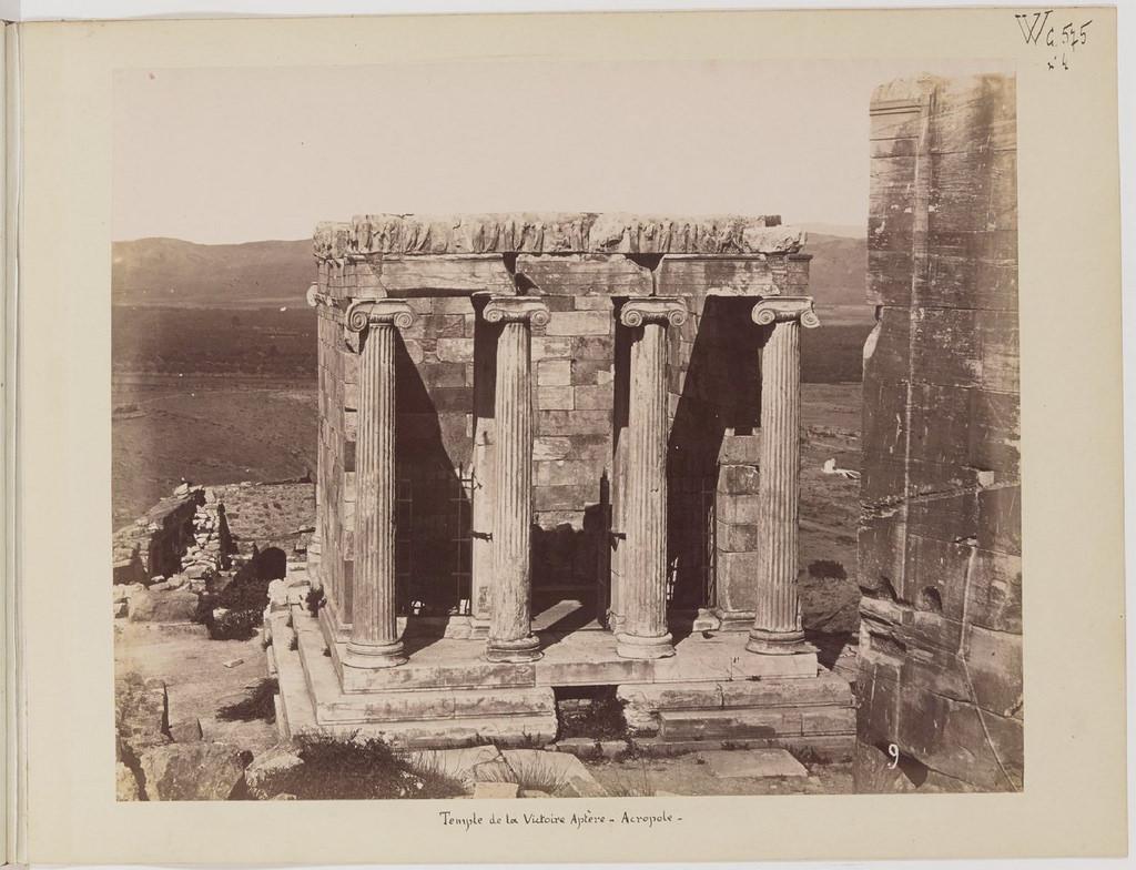 Альбом из 21 фото. из Афин и Пирея в 1880 году, подарок доктора Фювьера-11