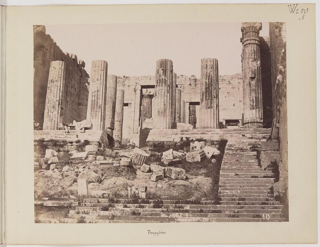 Альбом из 21 фото. из Афин и Пирея в 1880 году, подарок доктора Фювьера-12