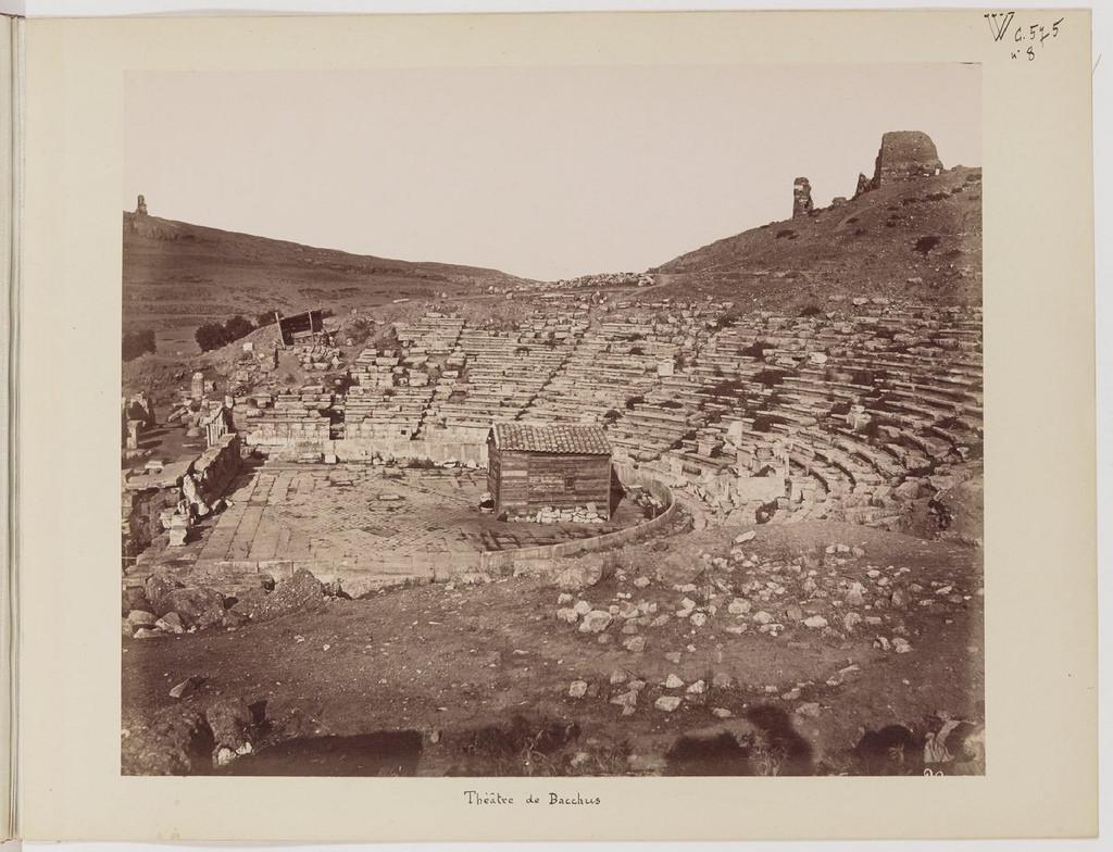 Альбом из 21 фото. из Афин и Пирея в 1880 году, подарок доктора Фювьера-15