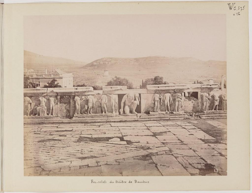 Альбом из 21 фото. из Афин и Пирея в 1880 году, подарок доктора Фювьера-19