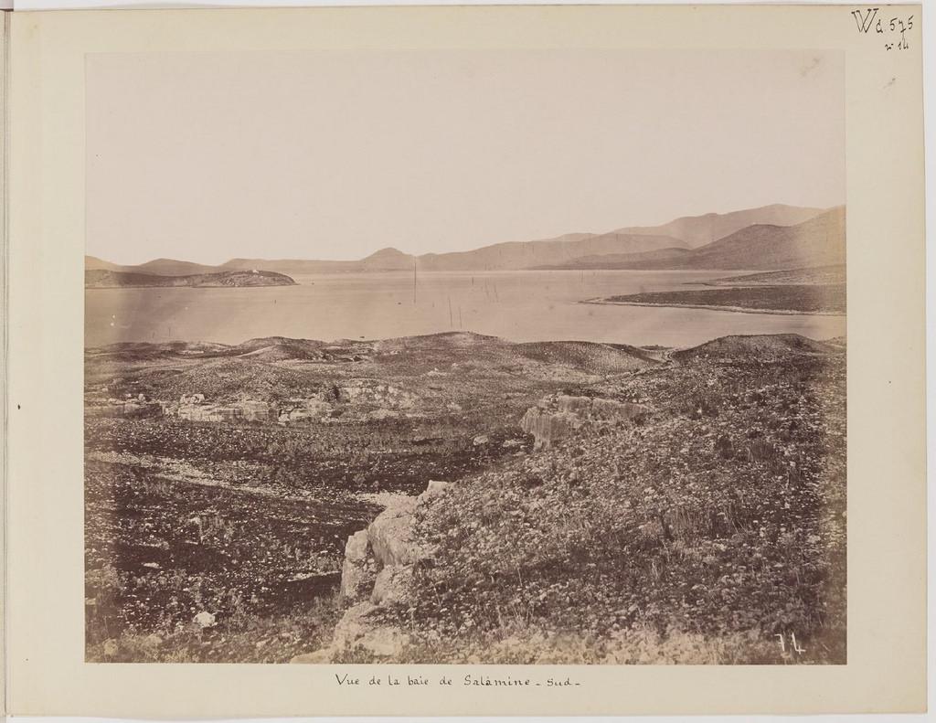 Альбом из 21 фото. из Афин и Пирея в 1880 году, подарок доктора Фювьера-21