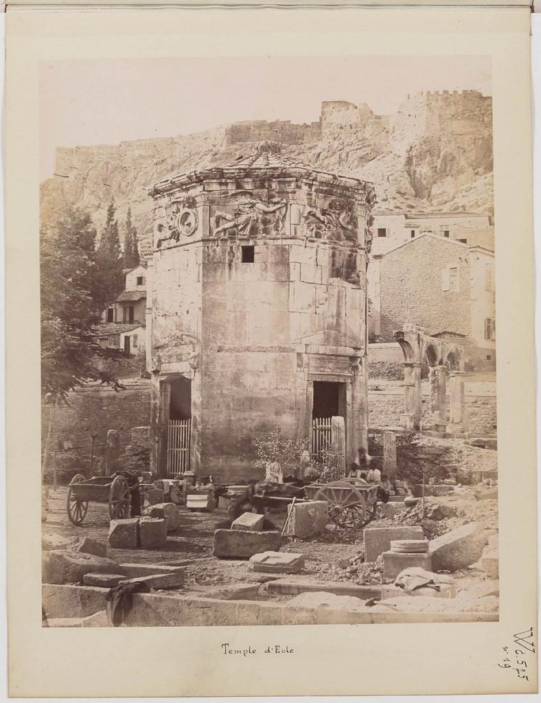Альбом из 21 фото. из Афин и Пирея в 1880 году, подарок доктора Фювьера-26