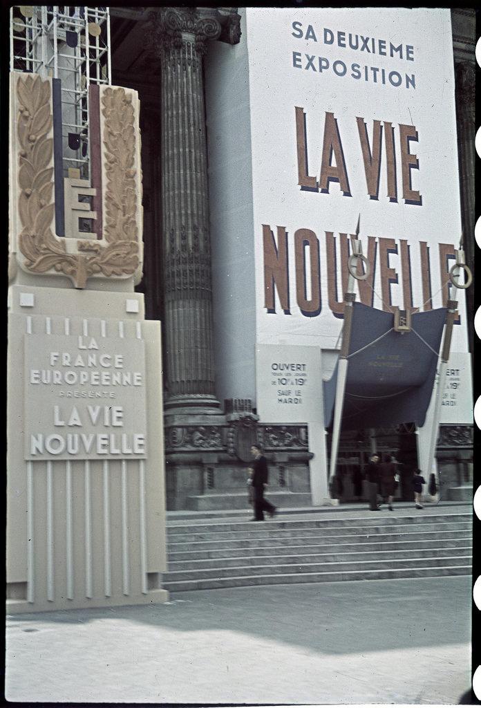 Новая жизнь. Вторая выставка европейской Франции в Гранд-Пале