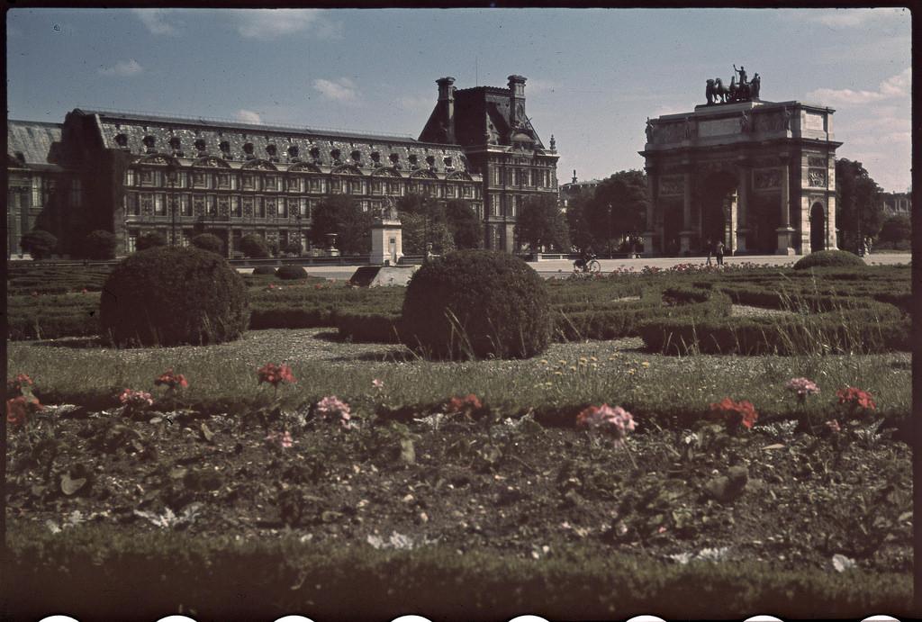 Овощеводство в садах Лувра (1)