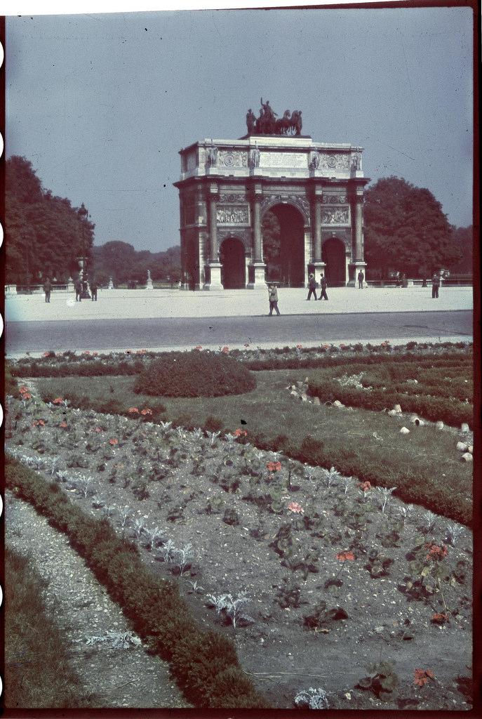Овощеводство в садах Лувра (2)